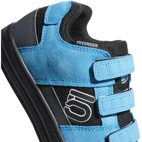 adidas Five Ten Freerider VCS Scarpe Bambino, core black/ftwr white/shock cyan